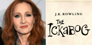 J.K. Rowling e a capa do conto de fadas 'The Ickabog'
