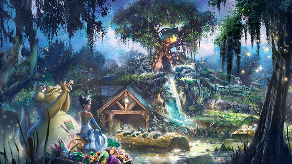 Nova Splash Mountain, da Disney, inspirada no filme 'A Princesa e o Sapo'