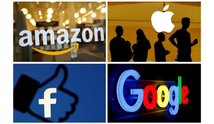 Facebook, Google, Amazon e Apple