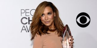 Naya Rivera durante a premiação do People's Choice Awards de 2014, em Los Angeles