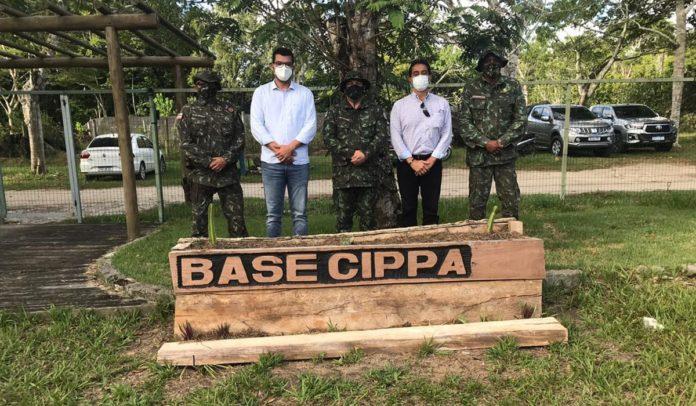 Secretário do Meio Ambiente visita Companhia Independente de Policiamento e Proteção Ambiental