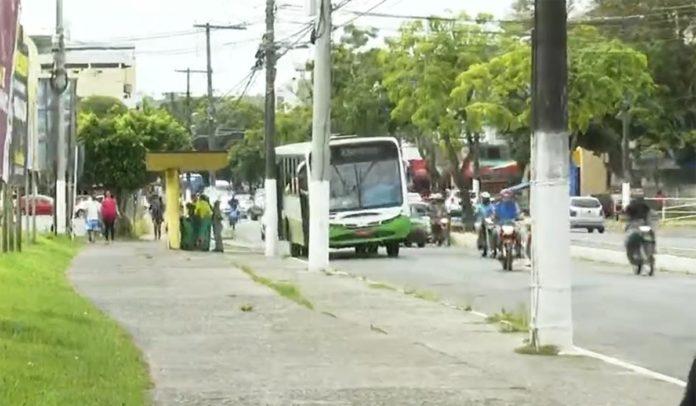 Ônibus do transporte público de Itabuna