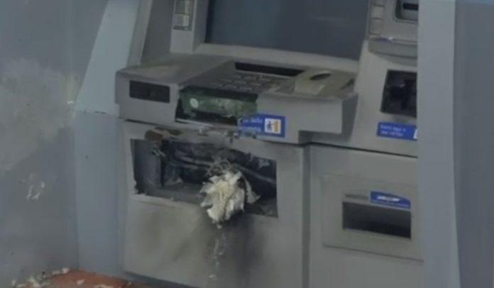 Caixa eletrônico explodido em agência bancária no bairro de Itapuã, em Salvador