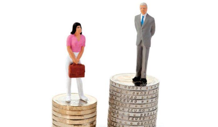 Diferença salarial entre homem e mulher