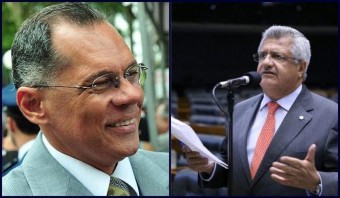 Ex-prefeito de Salvador, João Henrique, e ex-secretário da Secult, Bacelar