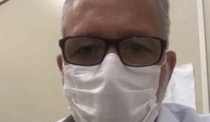 Dr. Eugênio Franca, responsável pelo hemocentro de Eunápolis