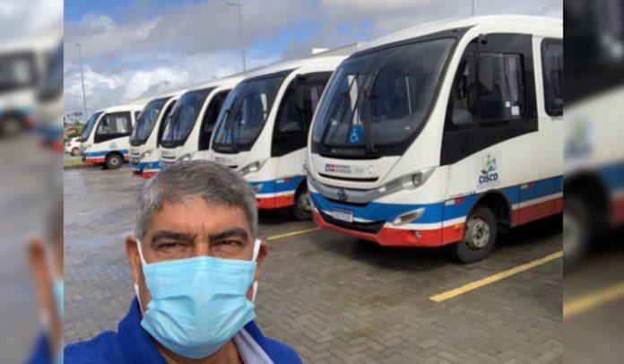 Presidente do Consórcio de Saúde da Costa do Descobrimento, prefeito Agnelo Santos