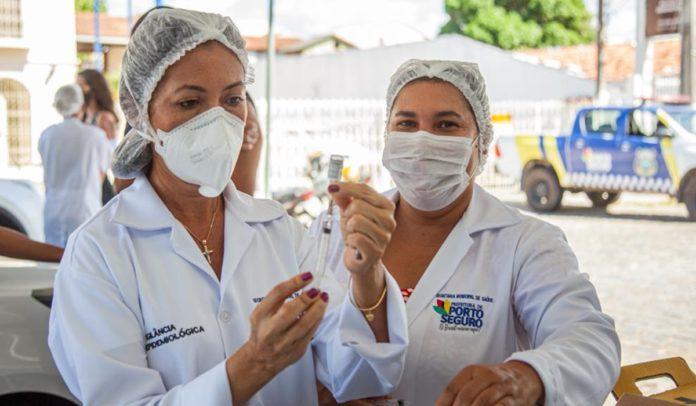 Porto Seguro atinge a marca de 26 mil vacinados contra a Covid-19