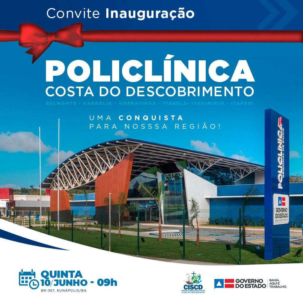 Rui Costa e Agnelo Santos inauguram dia 10 a Policlínica do Descobrimento