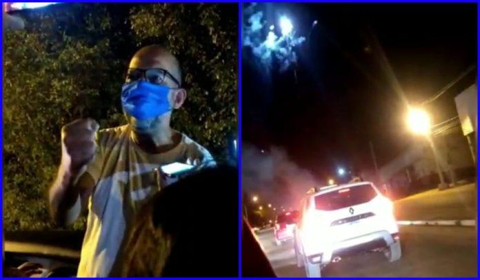 Carreata, fogos e discurso emocionado na libertação de Roberio Oliveira
