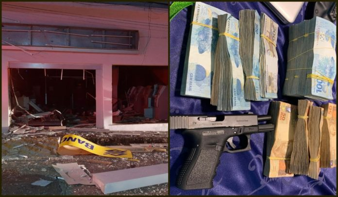 Operação da PF e da PC contra grupo investigado por explodir agências bancárias em SE