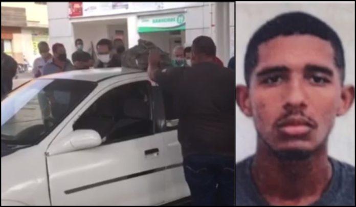 jovem é morto a tiros enquanto esperava em fila para abastecer carro em teixeira de freitas