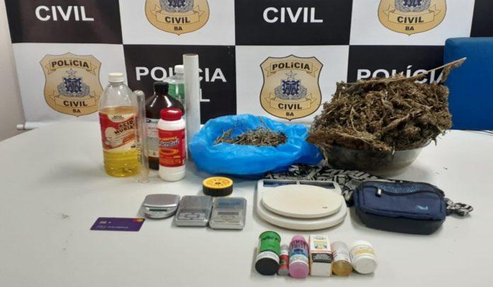 Operação prende biomédico suspeito de vender drogas por delivery em Salvador