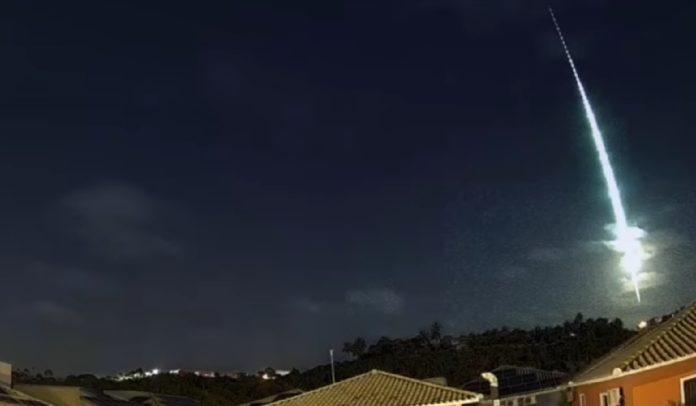 Meteoro é visto em Porto Seguro e mais 7 cidades da Bahia