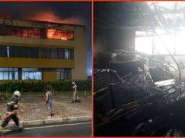 Incêndio em hotel deixa seis pessoas feridas em Salvador