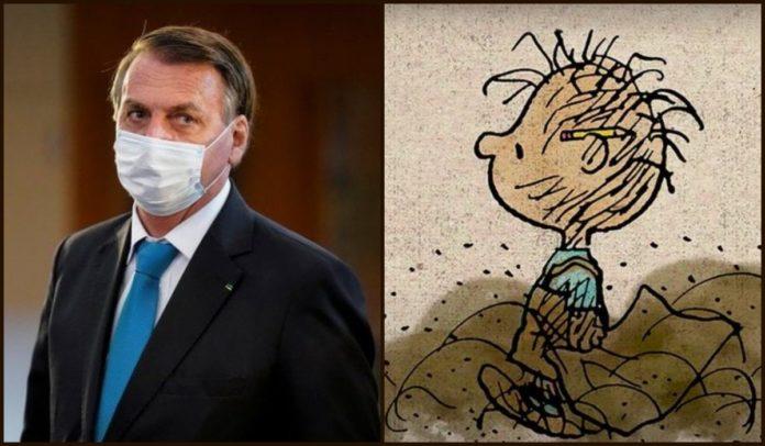 Apresentador de TV nos EUA faz piada com Bolsonaro por não tomar vacina, e o compara ao personagem Chiqueirinho