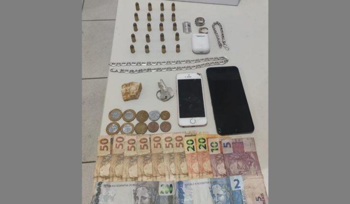 Polícia prende homem com drogas e munições em Porto Seguro