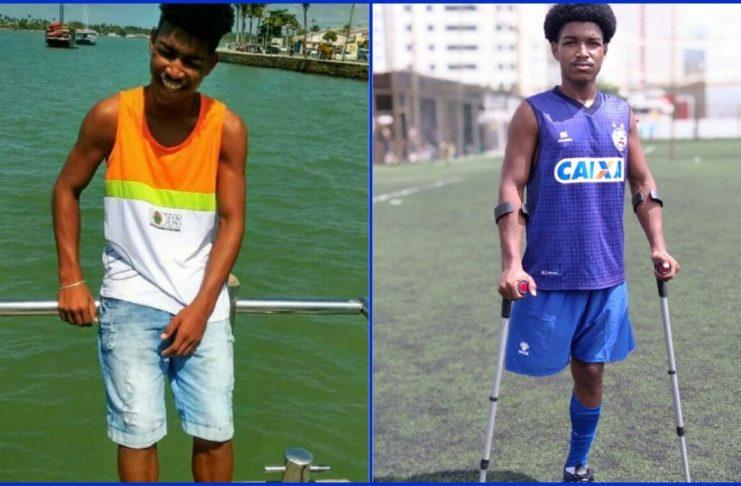 Jovem atleta de Porto Seguro entra para o time de amputados do Esporte Clube Bahia