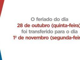 Governo da Bahia transfere feriado do Dia do Servidor para 1º de novembro, véspera do Dia de Finados